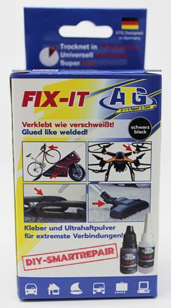 ATG FIX-IT Super glue - Glued like welded! - Display POS for retailers - for adhering and welding - the newest developments in adhesive technology - DIY Smart Repair - 8 – Bild 2