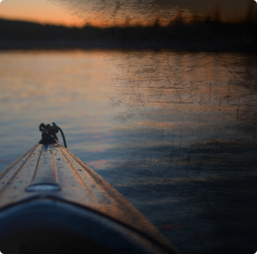 first time on kayak?