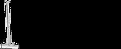 Prijon Senkrechtstützen Edelstahl für Nutsysteme 2tlg.