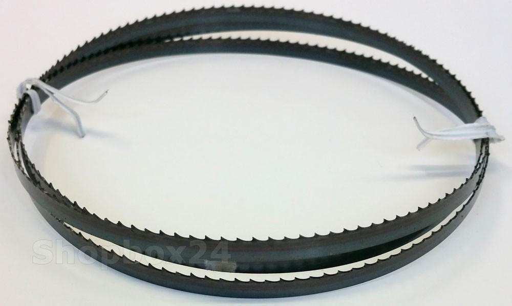 Werkzeugstahl Standard Sägeband 1770 mm x 8 mm x 0,65 mm x 6 Zähne pro Zoll, für Holz, Hartholz, Brennholz, Sperrholz, Quer- und Schweifschnitte – Bild 1