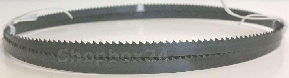 Werkzeugstahl Premium Sägeband 1505 mm x 6 mm x 0,36 mm x 10 Zähne pro Zoll, für Sperrholz – Bild 2