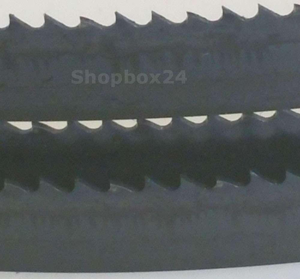 Werkzeugstahl Premium Sägeband 1505 mm x 6 mm x 0,36 mm x 14 Zähne pro Zoll, für weiche Metalle wie Bronze, Kupfer und Aluminium – Bild 3