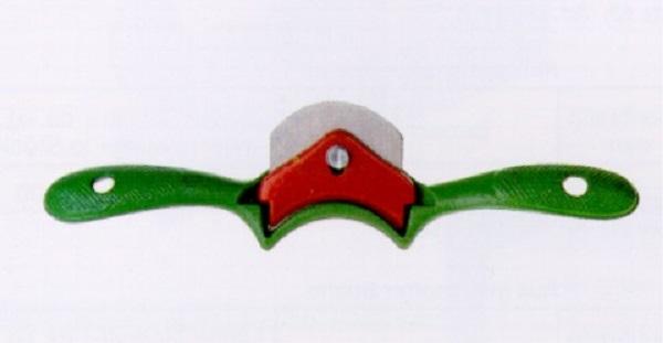 ECE Hobel aus Metall Schabhobel mit hohlem Eisen Länge 250 mm 55