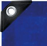 PE-Gewebeplane 90 blau 3 x 5 m 91218, Gewebeplane, Plane, Gewebe, Abdeckplane, Abdeck, Schutzplane, Schutz, universell einsetzbar, verschiedene Stärken erhältlich (je schwerer das Material auf den qm² ist, umso reißfester) – Bild 2