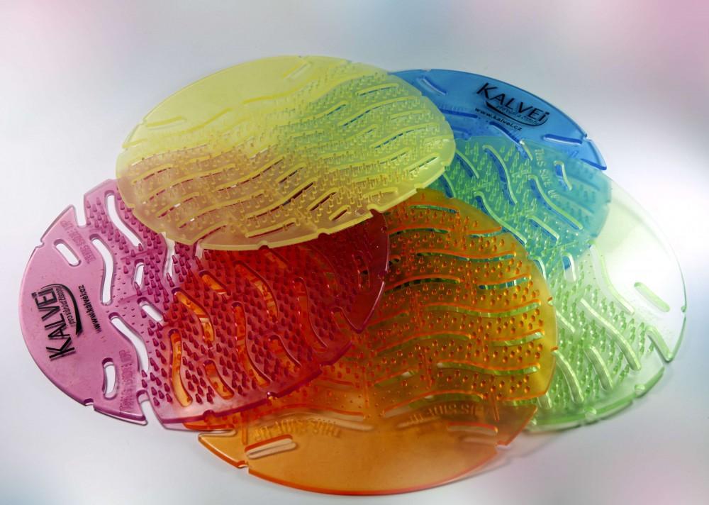 Urinalsieb Geruchsneutralisator rund M1 Fabulous Lavender, m. Kalenderfunktion, wohlriechend, kleine Spitzen / Sprossen zur Vermeidung des Anti-Splash Effects, Verringerung der Schmutzablagerung Reinigungszeitverkürzung 100 % recyclebar – Bild 12