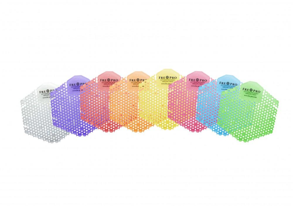 2x Urinalsieb Geruchsneutralisator eckig M3 Kiwi Grapefruit, m. Kalenderfunktion, wohlriechend, längere Spitzen / Sprossen zur Vermeidung des Anti-Splash Effects Verringerung d. Schmutzablagerung Reinigungszeitverkürzung 100 % recyclebar – Bild 12