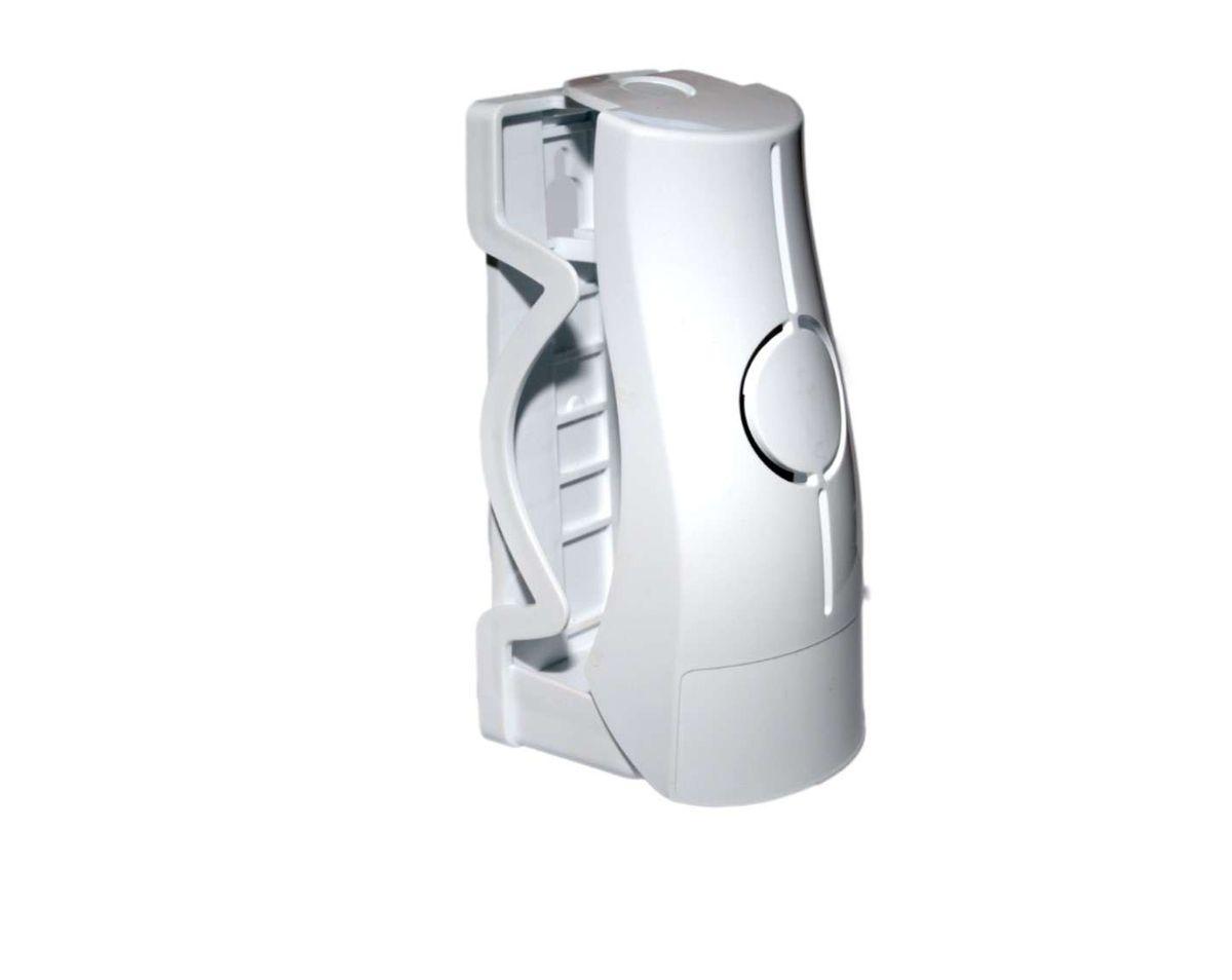 klappbarer Halter Klebehalter Schraubhalter für Fre Pro Artikel wie Eco Air 2.0, weiß, sichtbare oder diskrete Aufstellung von Lufterfrischern möglich, zeitloser schöner Halter, ideal für alle Räume, Fensterbänke, und sonstige Orte – Bild 1