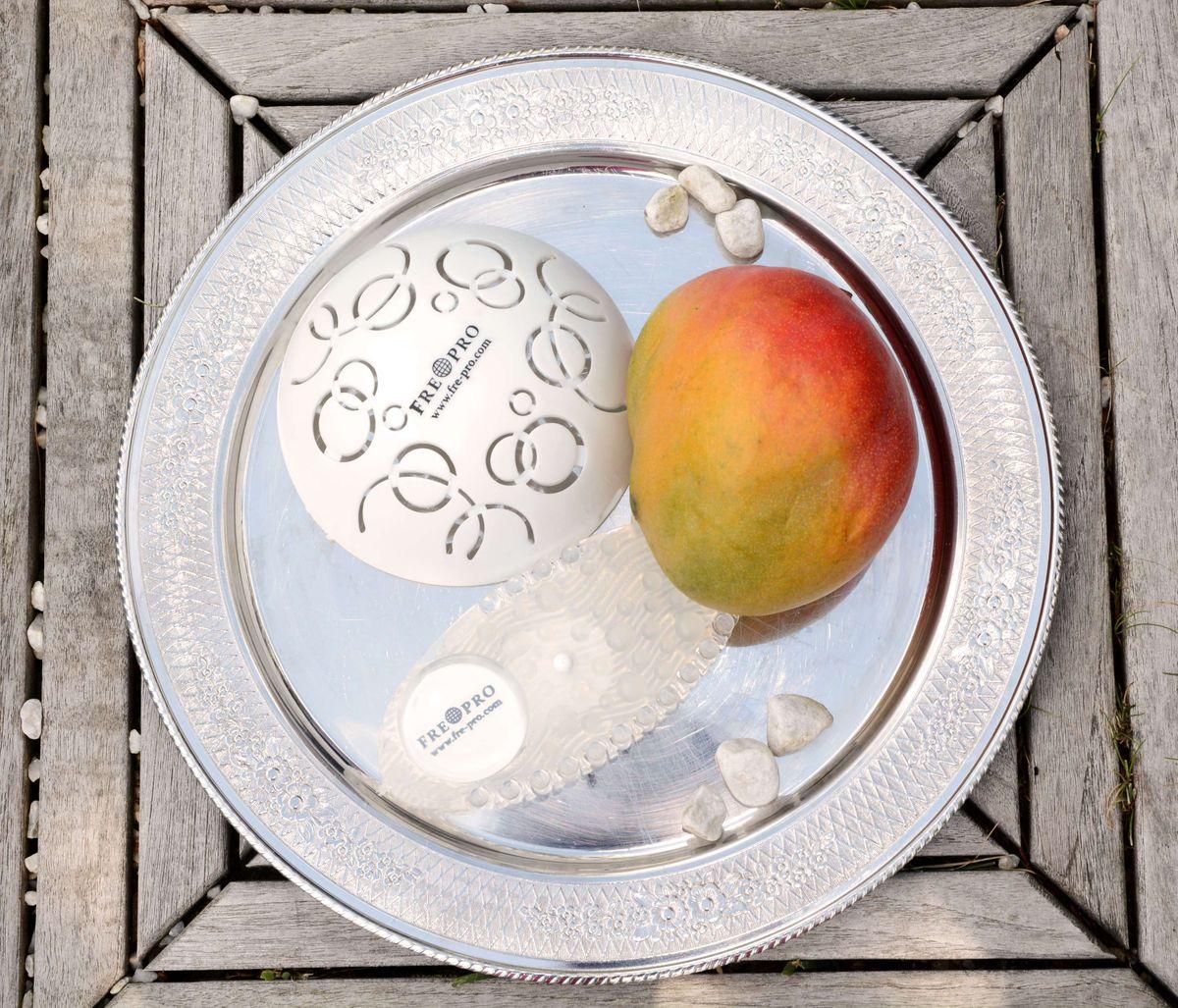 Easy Fresh 2.0, Duftabdeckung, austauschbare Duftdeckeleinheit, Geruchsneutralisator, rund / Halbkugel offen / mit Belüftungsöffnungen, weiß / white, Mango, wohlriechend, 30 Tage konstante Duftintensität, 100 % recyclebar – Bild 8
