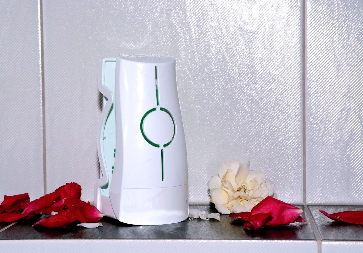 Eco Air 2.0, Cotton Blossom, blau / blue, Geruchsneutralisator, rund / Kegelform, universeller Lufterfrischer, wohlriechend, funktioniert auf Luftströmungsbasis, unzerbrechlich, 30 Tage volle Frischewirkung, 100 % recyclebar – Bild 11