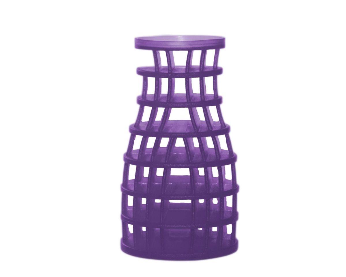 Duft Pyramide, Fabulous Lavender, violett, Geruchsneutralisator, rund / Kegelform, universeller Lufterfrischer, wohlriechend, funktioniert auf Luftströmungsbasis, unzerbrechlich, 30 Tage volle Frischewirkung, 100 % recyclebar – Bild 1