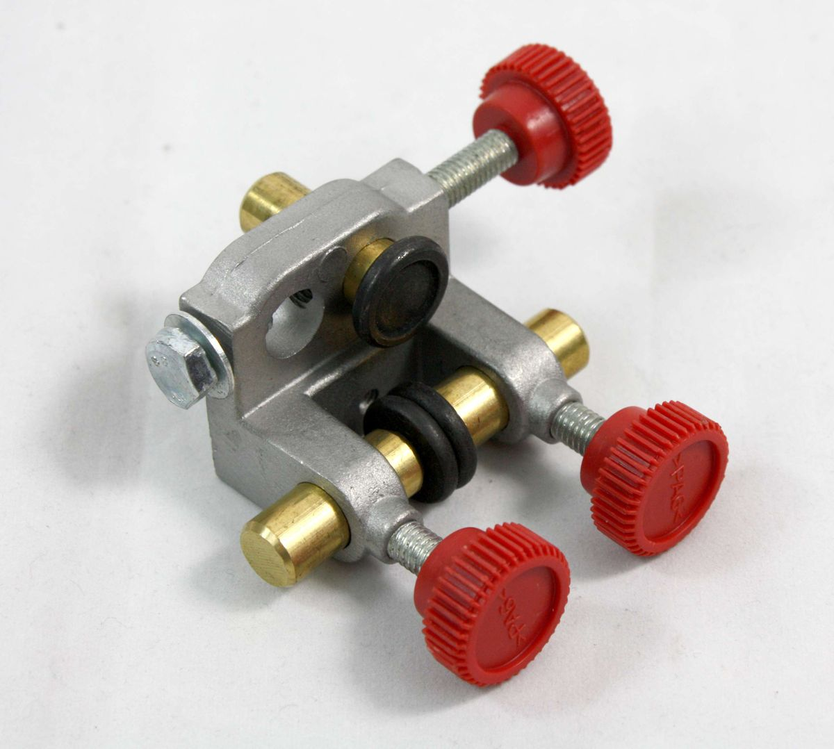 Ersatzteil Set / Baugruppe für Bandsägemaschinen, Dreirollenführung, vormontiert, für unten, geeignet für Metabo BAS 260 Swift, benötigt zur Sägebandführung – Bild 2