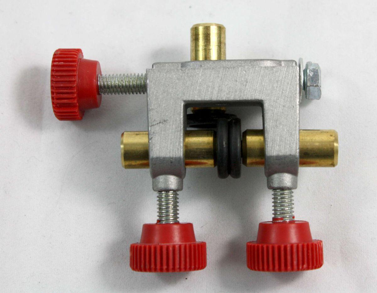 Ersatzteil Set / Baugruppe für Bandsägemaschinen, Dreirollenführung, vormontiert, für unten, geeignet für Metabo BAS 260 Swift, benötigt zur Sägebandführung – Bild 6
