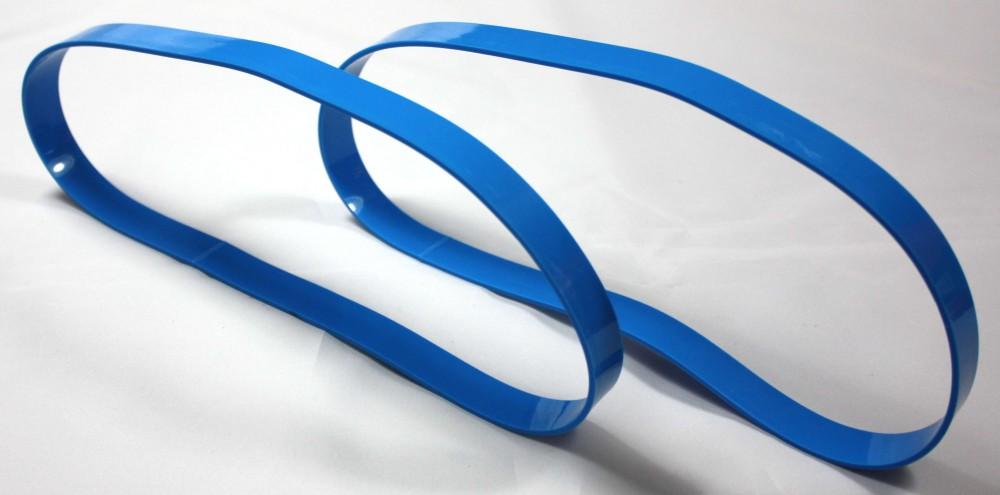 Bandage / Belagband für die Bandsägenmaschine Holzstar HBS 251, 2 teilig, hochwertig, Bindeglied zwischen Bandsägemaschine und Sägeband, Ersatz vom Laufrollenbelag Bandsägenbelag Rollenbelag Sägenbelag Belag Band – Bild 7
