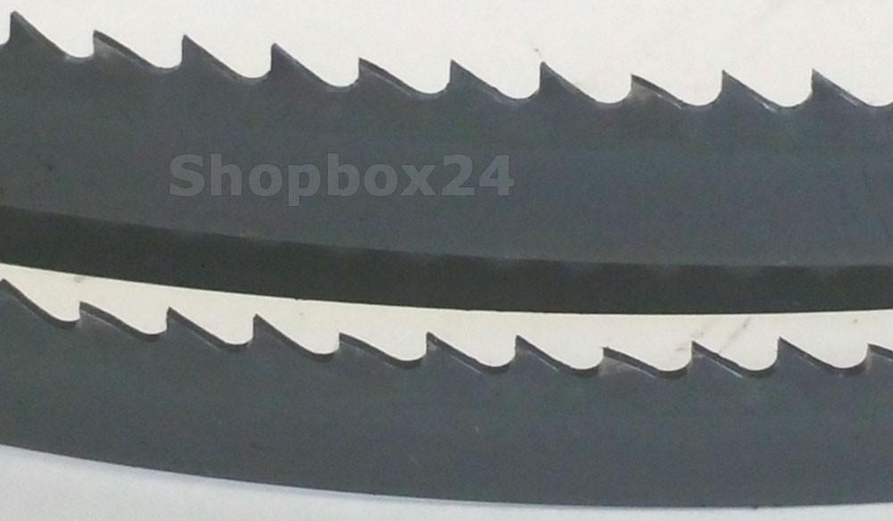 Werkzeugstahl Premium Sägeband 1520 mm x 6 mm x 0,36 mm x 10 Zähne pro Zoll, für Sperrholz – Bild 3