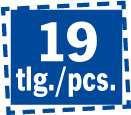 Projahn Bohrerkassette HSS-R 19 teilig 1-10/0,5 mm BASIC 60003 – Bild 3