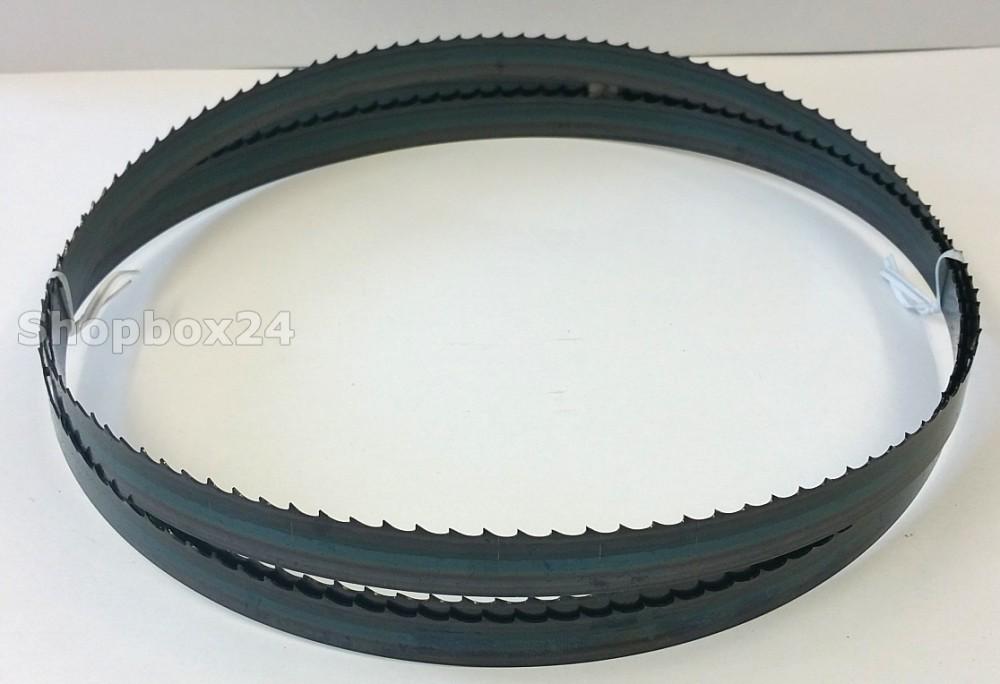 Werkzeugstahl Standard Sägeband 2240 mm x 16 mm x 0,65 mm x 4 Zähne pro Zoll, für Holz, Hartholz, Brennholz, Sperrholz, Quer- und Schweifschnitte – Bild 1