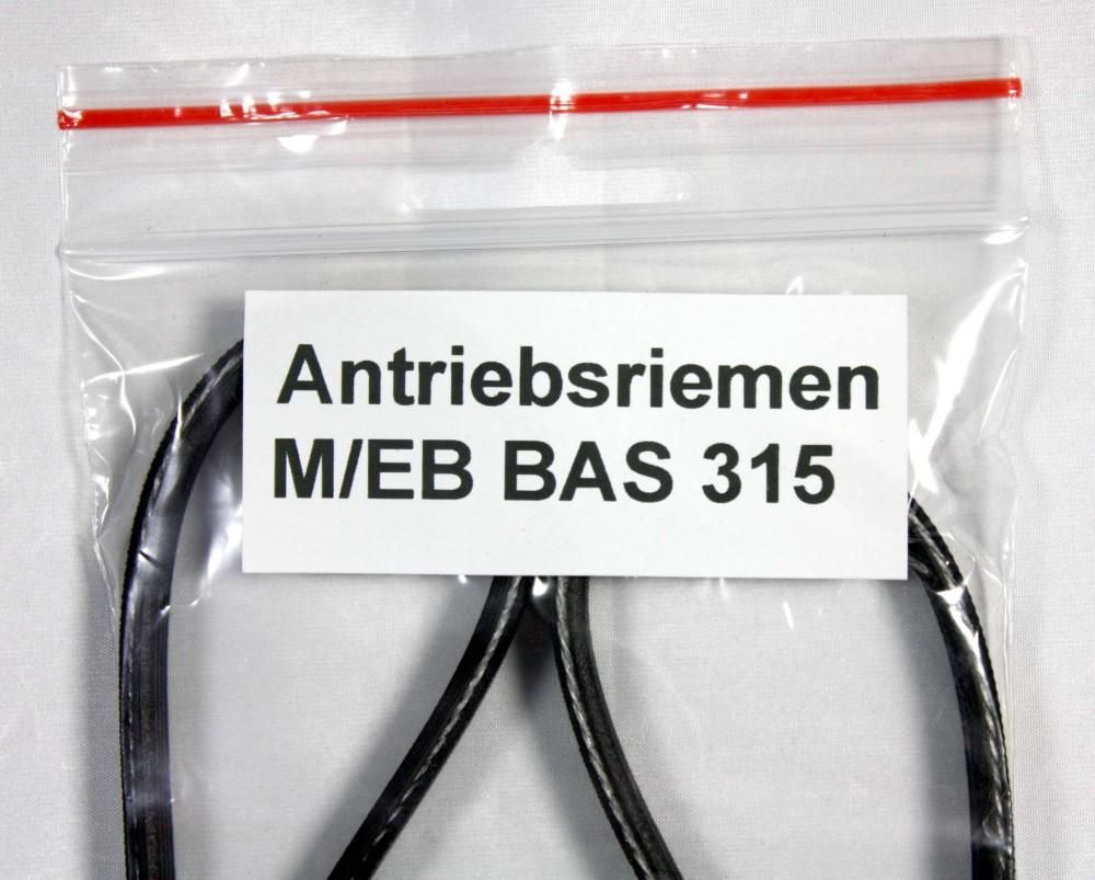 Antriebsriemen / Keilriemen / Rippenriemen für die Bandsägenmaschine Elektra Beckum / Metabo BAS 315 / BAS 315/4 / BAS 315 WN – Bild 2