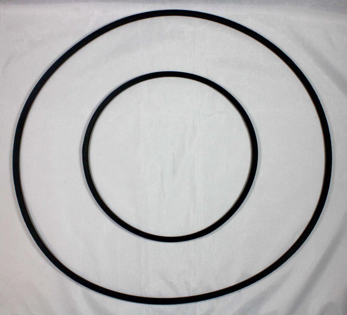 Keilriemen (Antriebsriemen) Satz für die Bandsägenmaschine Elektra Beckum / Metabo BAS 450, 2 teilig – Bild 3