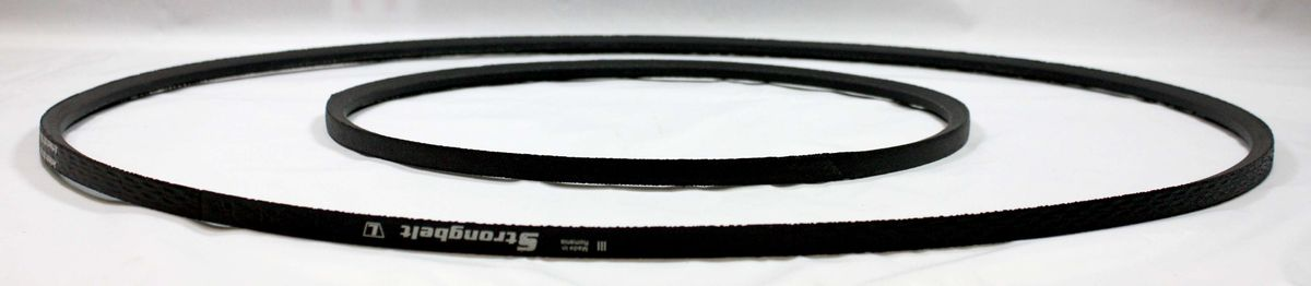 Keilriemen (Antriebsriemen) Satz für die Bandsägenmaschine Elektra Beckum / Metabo BAS 450, 2 teilig – Bild 5