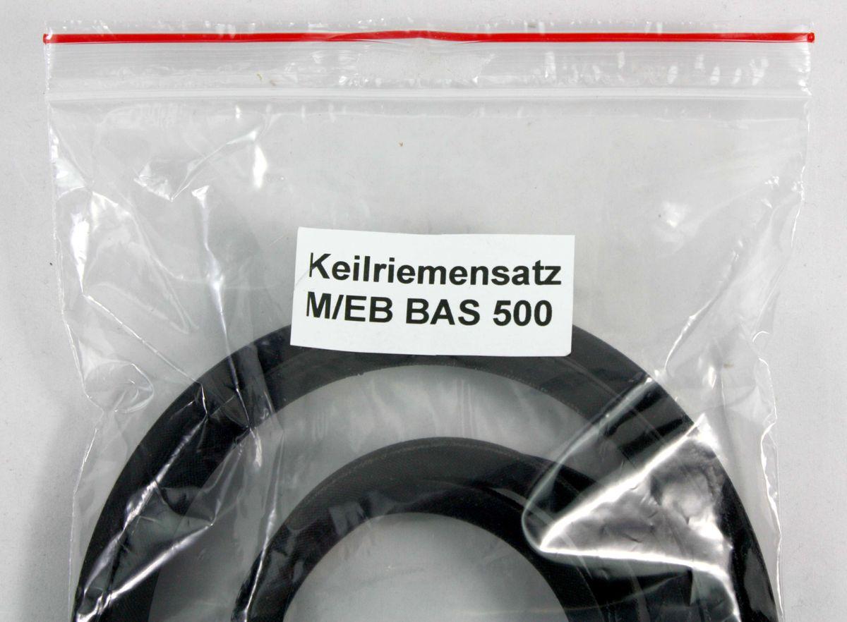 Keilriemen (Antriebsriemen) Satz für die Bandsägenmaschine Elektra Beckum / Metabo BAS 500 – Bild 2