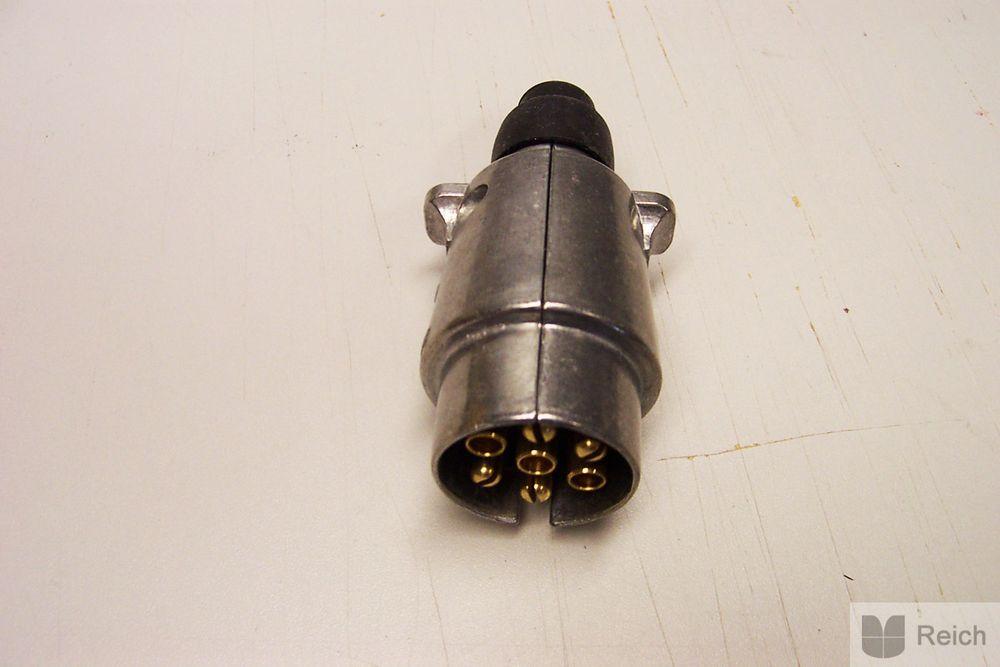Steckdose 7-polig Metall
