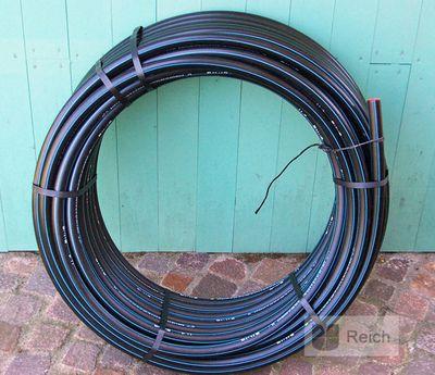 """Wasserrohr Wasser PE- Wasserleitungsrohr PE- Rohr 1/2"""", 20 mm, 100 Meter (für Trinkwasser)  – Bild 1"""
