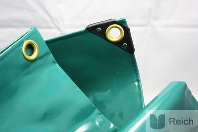 PVC LKW Abdeck-Plane grün 650g 2 x 3 m – Bild 1