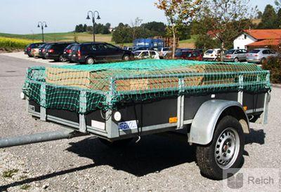 Anhänger Ladungssicherungsnetz SAFENET 2,0 m x 2,5 m Neu! – Bild 1