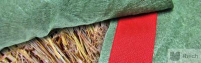 FIX TEX Klettband für PolyTex Stroh- & Heuballenschutz Heuballen Strohballen  0,05 x 25 m – Bild 3