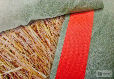 FIX TEX Klettband für PolyTex Stroh- & Heuballenschutz Heuballen Strohballen  0,05 x 25 m – Bild 1