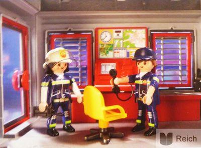 Playmobil 9052 City Action Feuerwehr Mega Set mit Pumpe – Bild 7