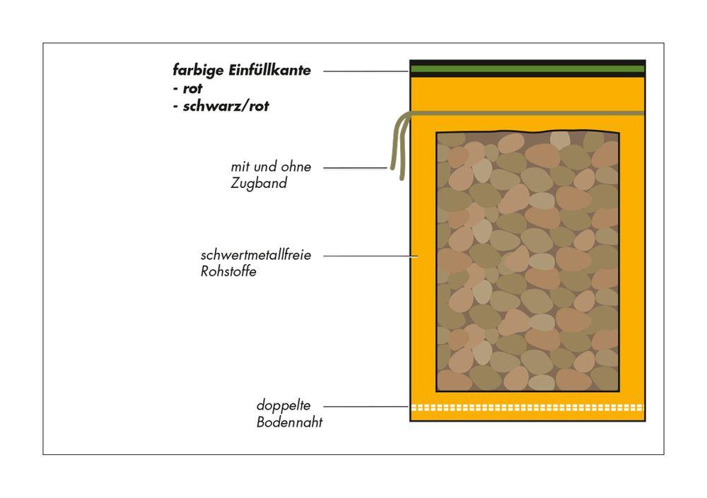 200 Kartoffel Raschelsäcke Raschel Säcke 50Kg fassend 60 x 100 cm