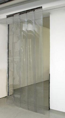 Streifenvorhang-Set PVC Lamellenvorhang vormontiert  130 cm x 225 cm – Bild 4