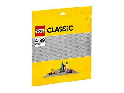 LEGO Classic 2er Set 10698 + 10701 Große Bausteine-Box + graue Grundplatte – Bild 4