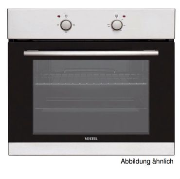Vestel VEB13026 autarker Einbaubackofen 64 L Edelstahl