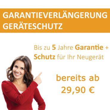 Garantieverlängerung für Geräte bis 750,- € inkl. MwSt.
