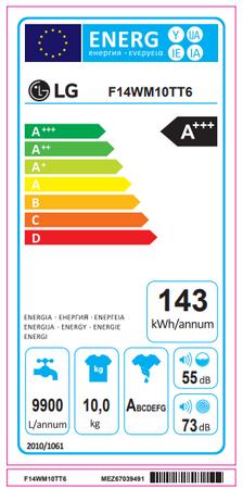LG Electronics F 14WM 10TT6 Waschmaschine – Bild 2