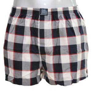 JOCKEY Herren Boxer Shorts Webboxer Twill U.S.A. Originals