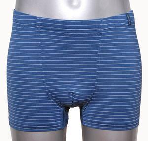 JOCKEY Herren Shorts Trunk Pant Microfaser indigo blau
