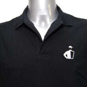 JOCKEY Herren Poloshirt kurzarm reine leichte Baumwolle Pique schwarz – Bild 4