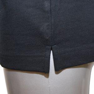 JOCKEY Herren Poloshirt kurzarm reine leichte Baumwolle Pique schwarz – Bild 3