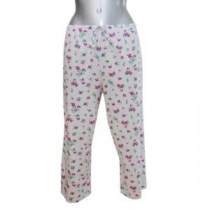 MelanieM Damen Pyjama 3/4 lang kurzarm Caprihose reine Baumwolle – Bild 5