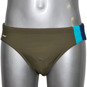 JOCKEY Herren Badehose Sport Slip International Collection dusty olive