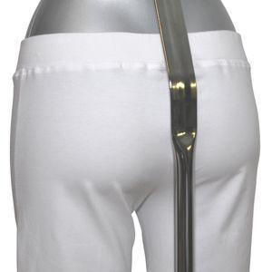 MelanieM Damen Pyjama 3/4 lang Capri-Hose Single Jersey – Bild 5
