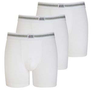 3 er Pack JOCKEY Boxer Trunk Pant Cotton Stretch Single Jersey  U.S.A Originals weiß – Bild 1