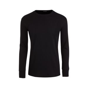JOCKEY Herren Shirt langarm Long Shirt Rundhals Modern Thermals schwarz – Bild 4