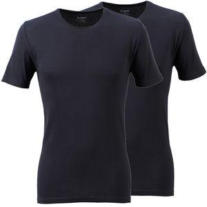 2er Pack JOCKEY T-Shirt Modern Classic Feinripp Baumwolle ohne Seitennähte – Bild 1
