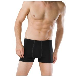 SCHIESSER 2 er Pack Herren Shorts Essentials dehnbarer weicher Single Jersey schwarz – Bild 2