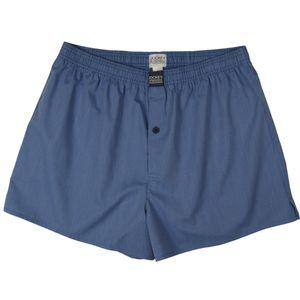 JOCKEY 2 er Pack Herren  Boxer Shorts fein gestreift Star Blue U.S.A. Originals – Bild 3