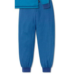 SCHIESSER Jungen Schlafanzug lang Jersey Capt´n Sharky fliegender Teppich blau – Bild 3